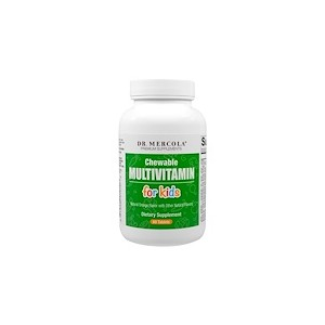 Dr. Mercola Chewable Multivitamin for Kids 60 Tablets