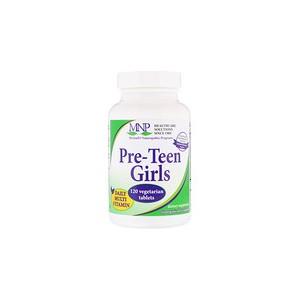 Michaels Naturopathic Pre-Teen Girls Daily Multi Vitamin 120 Vegetarian Tablets