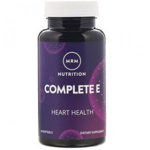 MRM Nutrition Complete E 60 Softgels