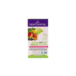 New Chapter Perfect Prenatal Multivitamin 96 Vegetarian Tablets