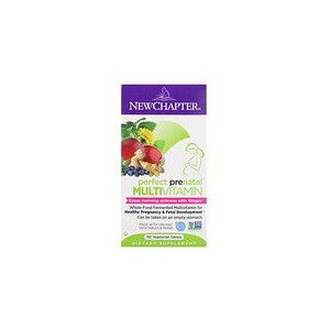 New Chapter Perfect Prenatal Multivitamin 192 Vegetarian Tablets
