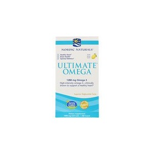 Nordic Naturals Ultimate Omega Lemon 1280 mg 180 Soft Gels
