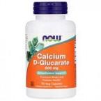 Now Foods Calcium D-Glucarate 500 mg 90 Veg Capsules