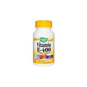 Natures Way Vitamin E 400 IU 100 Softgels
