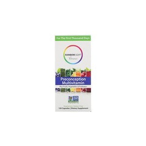 Rainbow Light Vibrance Preconception Multivitamin 120 Capsules