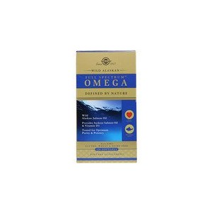 Solgar Full Spectrum Omega Wild Alaskan Salmon Oil 120 Softgels