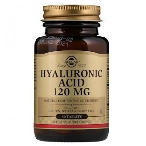 Solgar Hyaluronic Acid 120 mg 30 Tablets