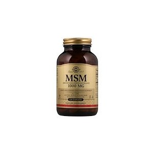 Solgar MSM (Methylsulfonylmethane) 1000 mg 120 Tablets