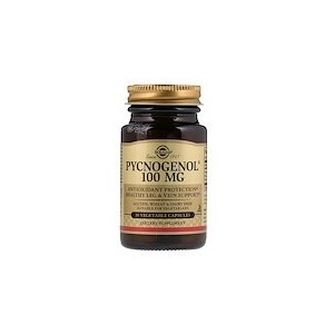 Solgar Pycnogenol 100 mg 30 Vegetable Capsules