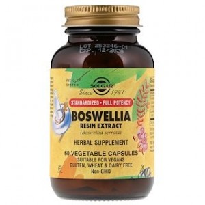 Solgar Boswellia Resin Extract 60 Vegetable Capsules