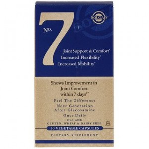 Solgar No. 7 Joint Support & Comfort 30 Vegetable Capsules