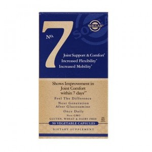 Solgar No. 7 Joint Support & Comfort 90 Vegetable Capsules