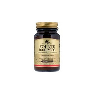 Solgar Folate as Metafolin 1000 mcg 60 Tablets