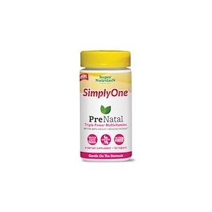 Super Nutrition SimplyOne PreNatal Triple Power Multivitamins 90 Tablets