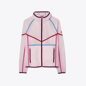 Contrast Ripstop Nylon Jacket