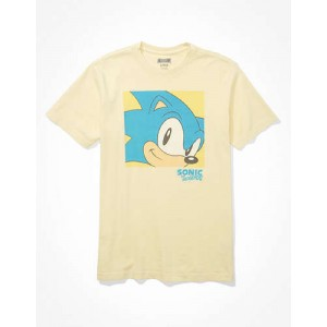 Tailgate Mens Sonic the Hedgehog Graphic T-Shirt