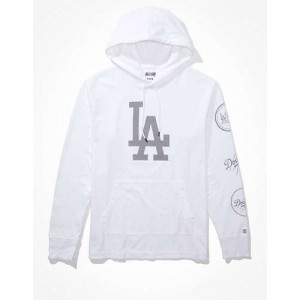 Tailgate Mens LA Dodgers Graphic Hoodie T-Shirt