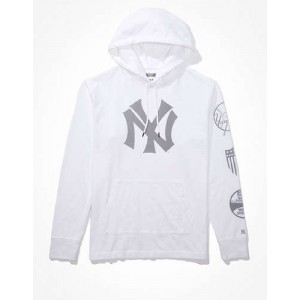 Tailgate Mens NY Yankees Graphic Hoodie T-Shirt