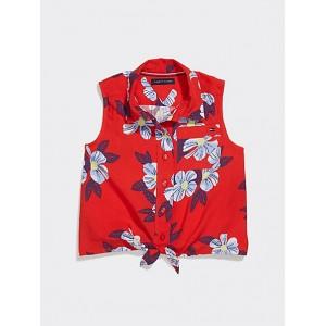 TH Kids Floral Print Sleeveless Top