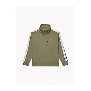 Funnel Neck Popover Sweatshirt