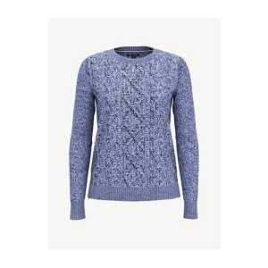 Essential Tweed Crewneck Sweater