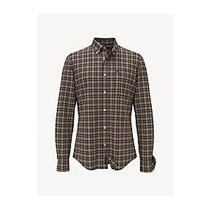 Custom Fit Essential Plaid Shirt