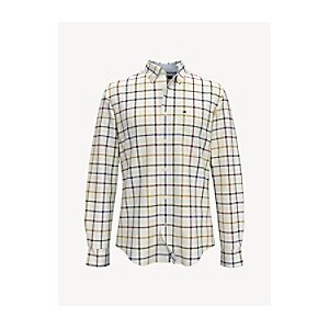 Custom Fit Essential Stretch Windowpane Check Shirt
