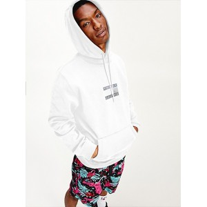 Organic Cotton Tommy Flag Hoodie