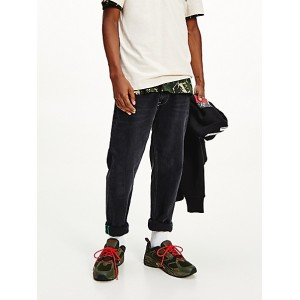 Recycled Black Wash Dad Fit Jean