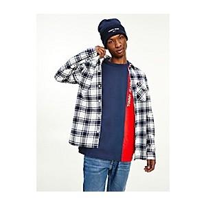 Organic Cotton Flannel Plaid Shirt