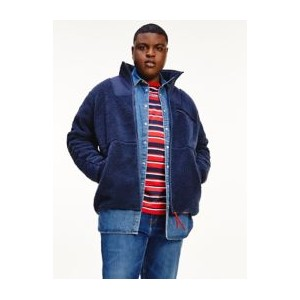 Big and Tall Recycled Combo Sherpa Jacket