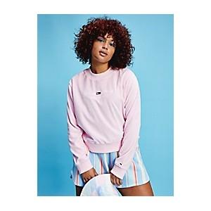 Curve Organic Cotton Velour Sweatshirt