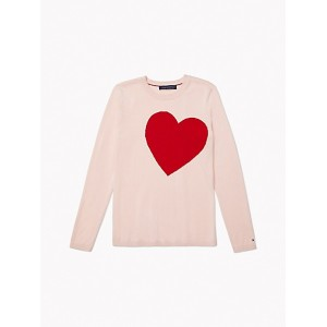 Essential Heart Intarsia Sweater