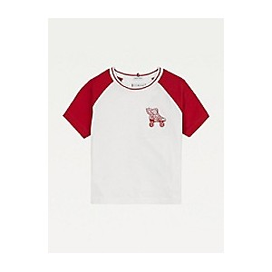 TH Kids Organic Cotton Raglan Skate T-Shirt