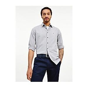 Slim Fit Organic Cotton Flex Flannel Shirt