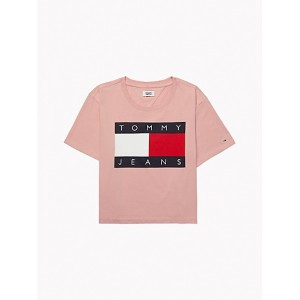 Cropped Flag T-Shirt