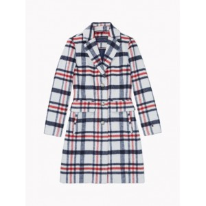 Essential Plaid Coat