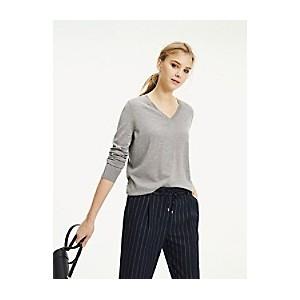 Wool V-Neck Sweater