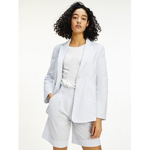 Icon Relaxed Fit Stripe Blazer