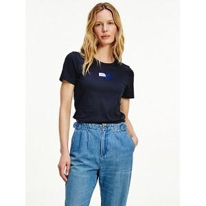 Icon Organic Cotton Wavy Flag T-Shirt