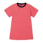 Big Girls Yarn Dye Stripe Pieced Sleeve Dress