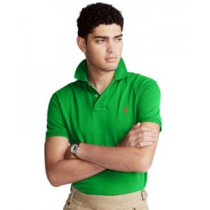 Mens Classic-Fit Mesh Polo