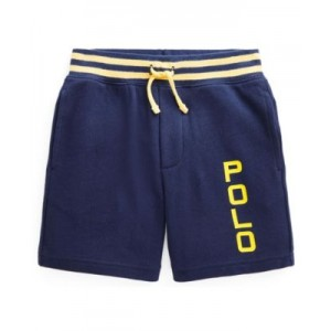 Little Boys Logo Spa Terry Shorts