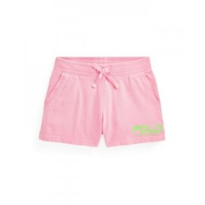 Little Girls Logo Spa Terry Shorts