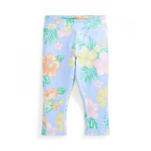 Little Girls Floral Stretch Jersey Legging