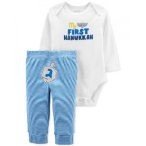Baby Boys or Girls 2-Pc. Hanukkah Bodysuit & Pants Set