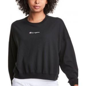 Womens Cotton Logo Sweatshirt