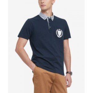 Mens Custom-Fit Hilfiger Club Emery Polo