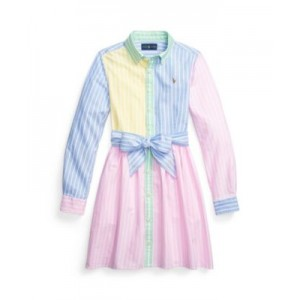 Toddler Girls Oxford Fun Shirtdress