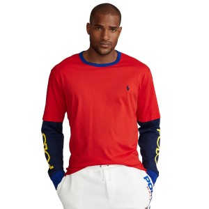 Mens Big & Tall Logo Jersey T-Shirt